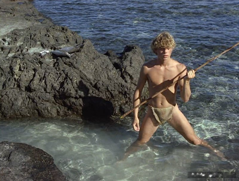 Christopher Atkins muscles