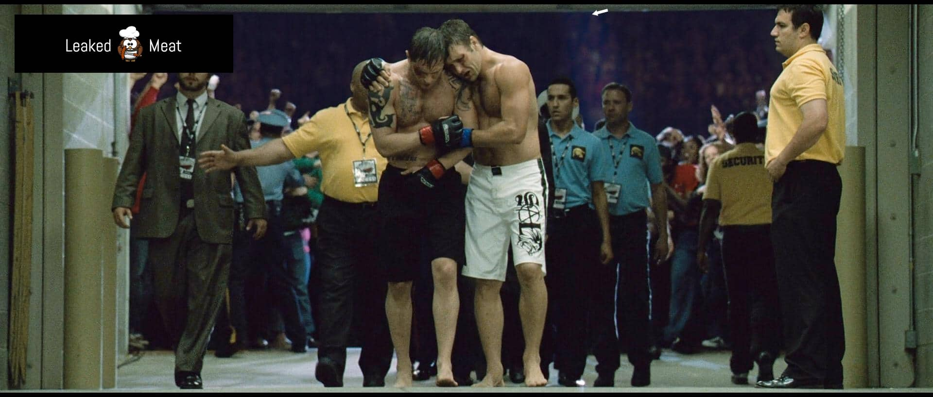 Joel Edgerton in the ring