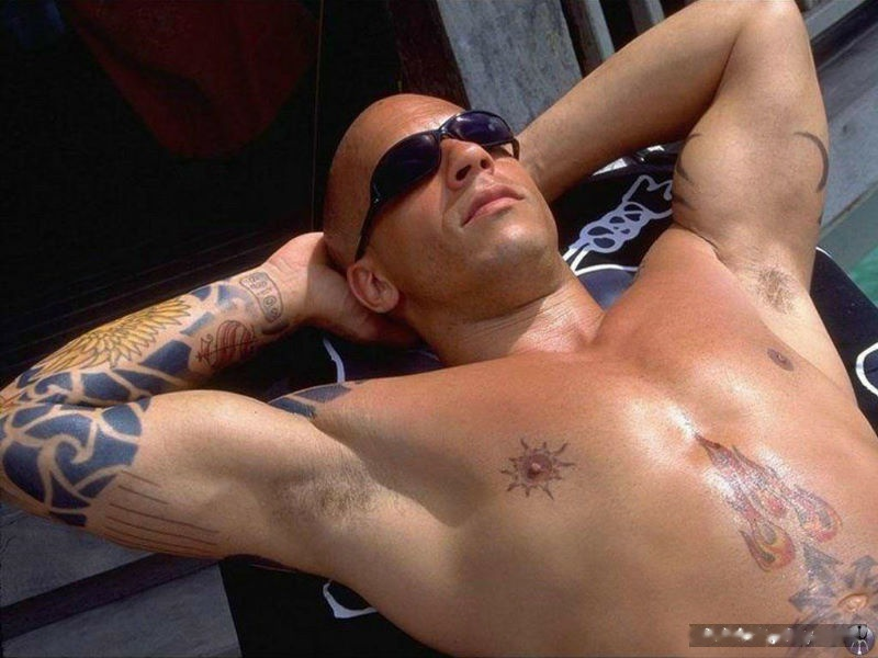 Vin Diesel hot body