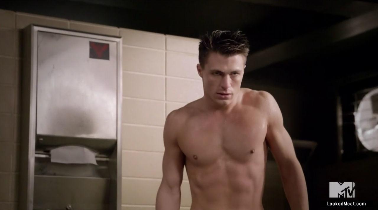 Colton Haynes nude