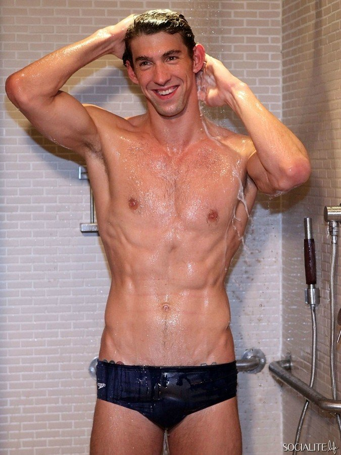 michael phelps nude