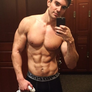 steve grand shirtless