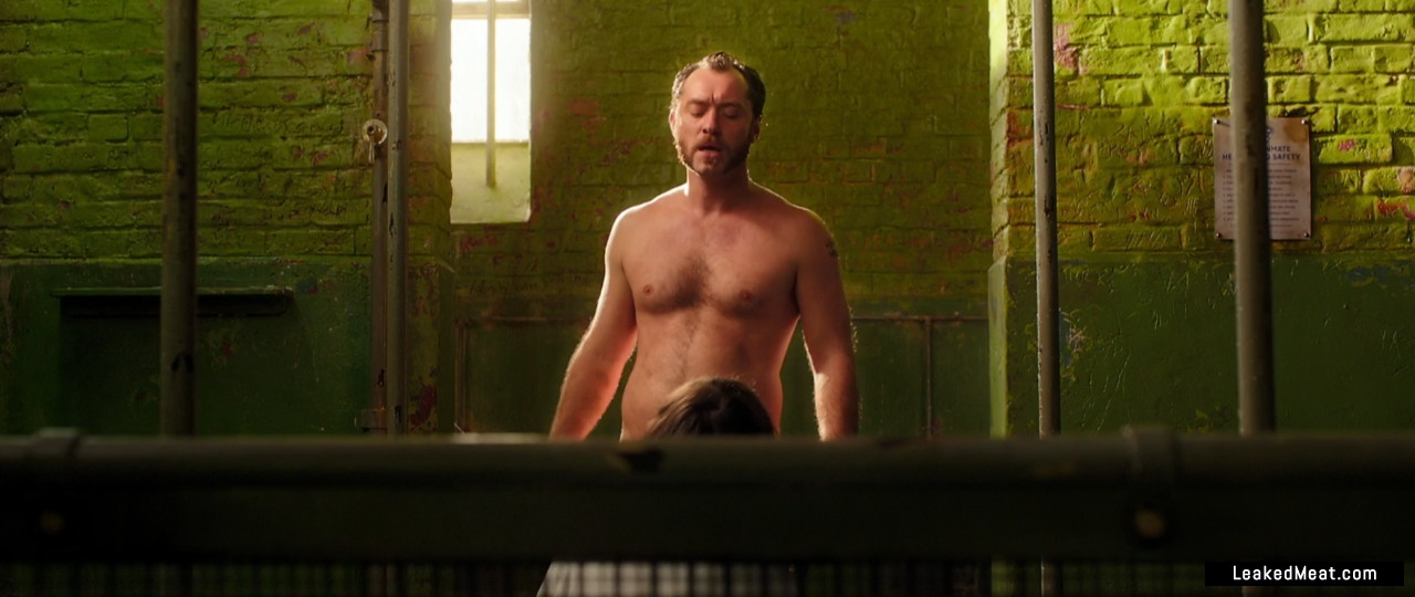 Jude Law muscular chest
