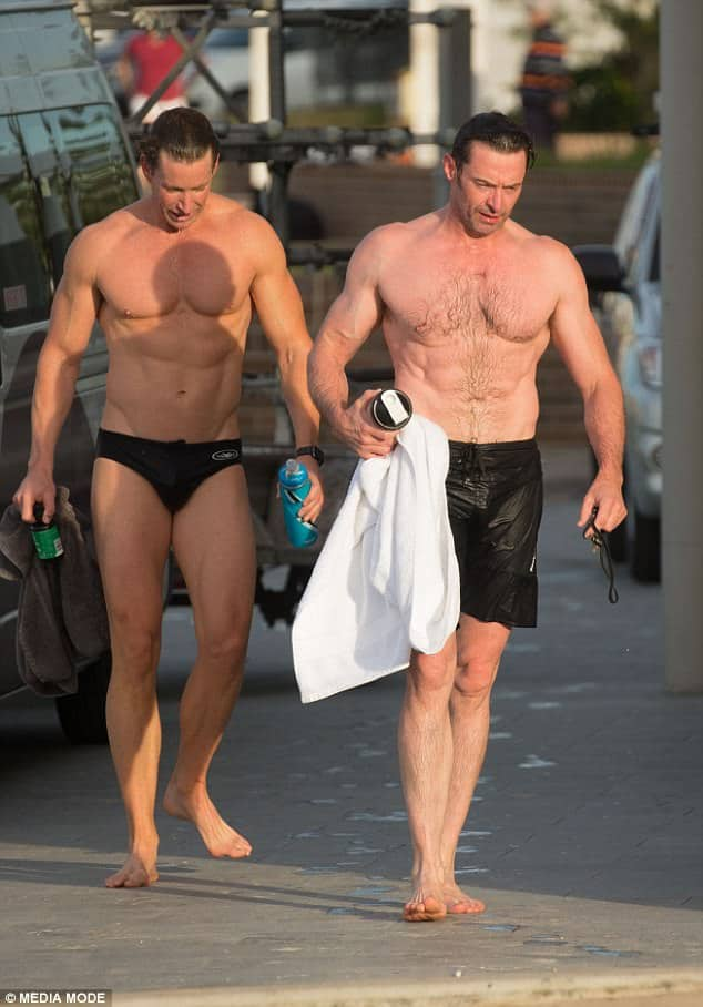 Hugh Jackman sexy as fuck