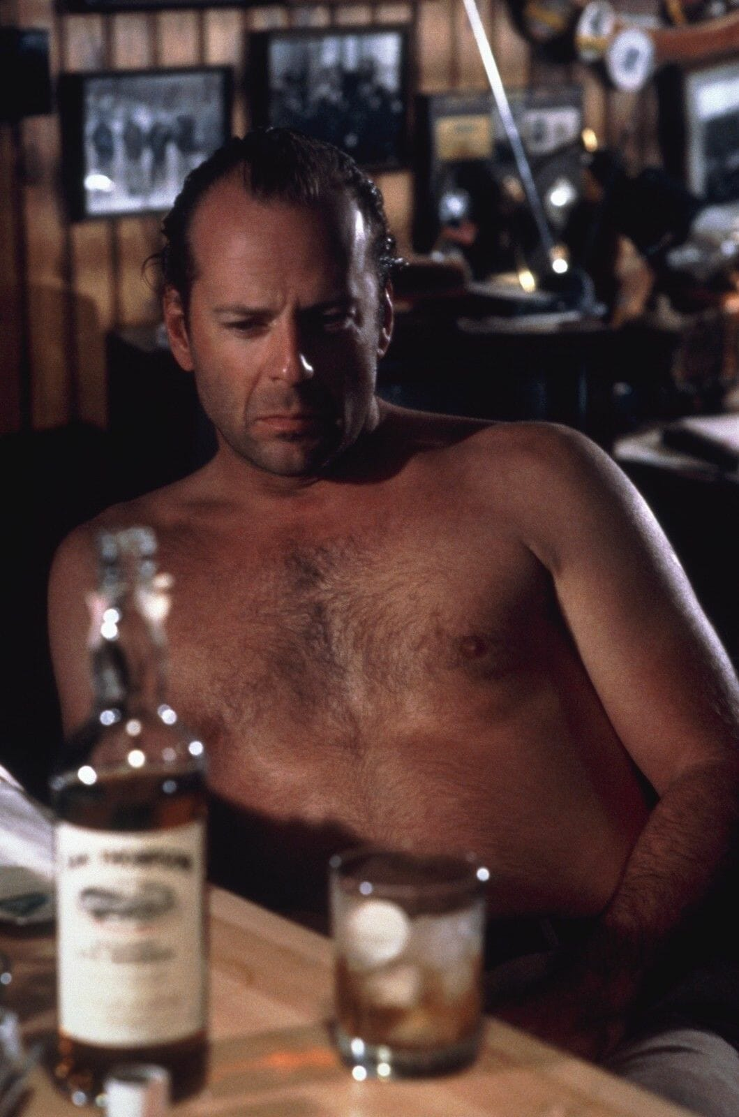Bruce Willis shirtless and sexy