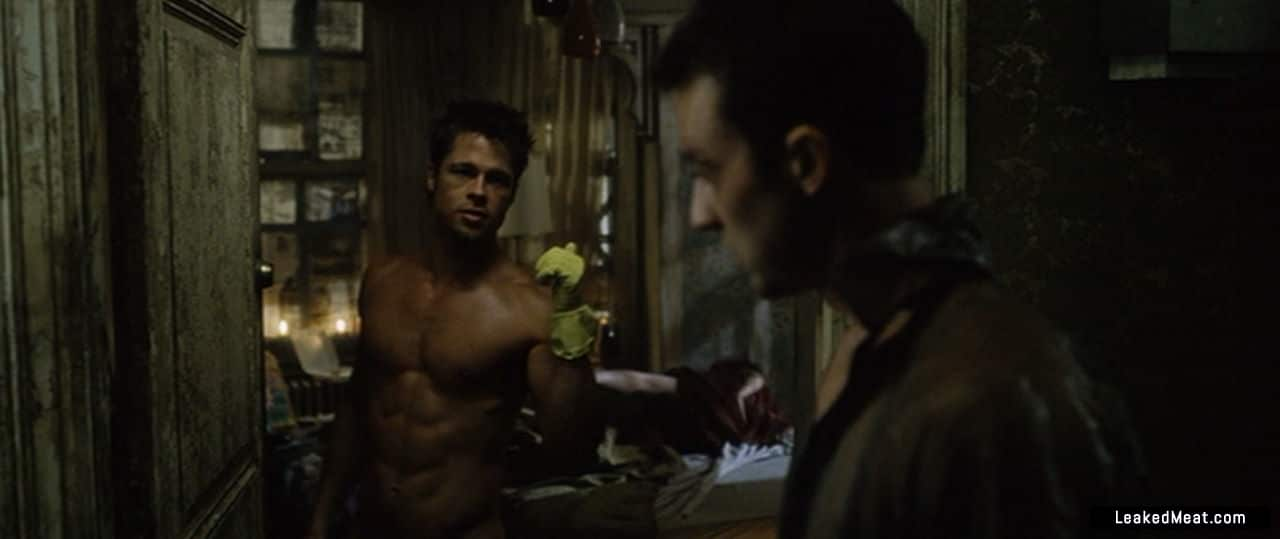 Brad Pitt big ass