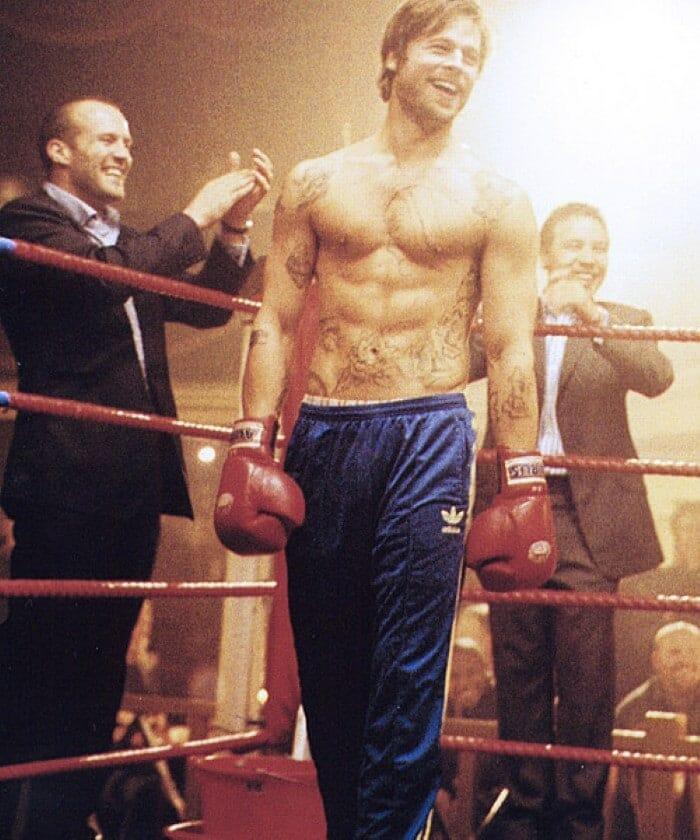 Brad Pitt boxing Snatch