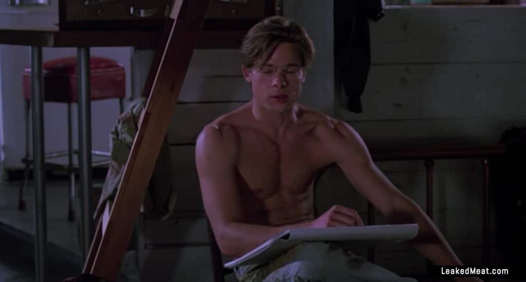 Brad Pitt leaked naked