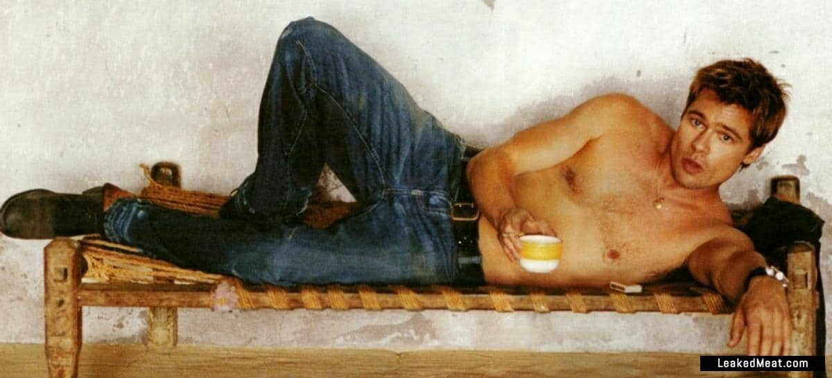 Brad Pitt leaked nude