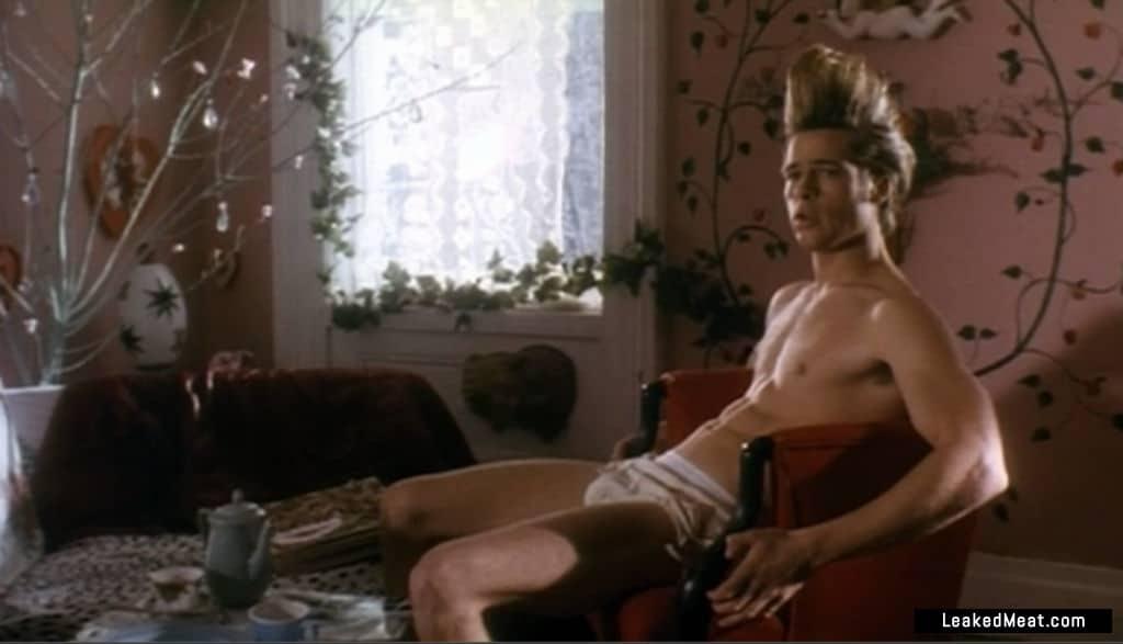 Brad Pitt sexy leaks
