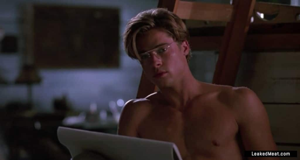 Brad Pitt shirtless picture