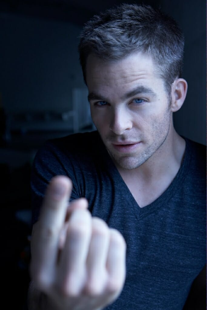 Chris Pine come here