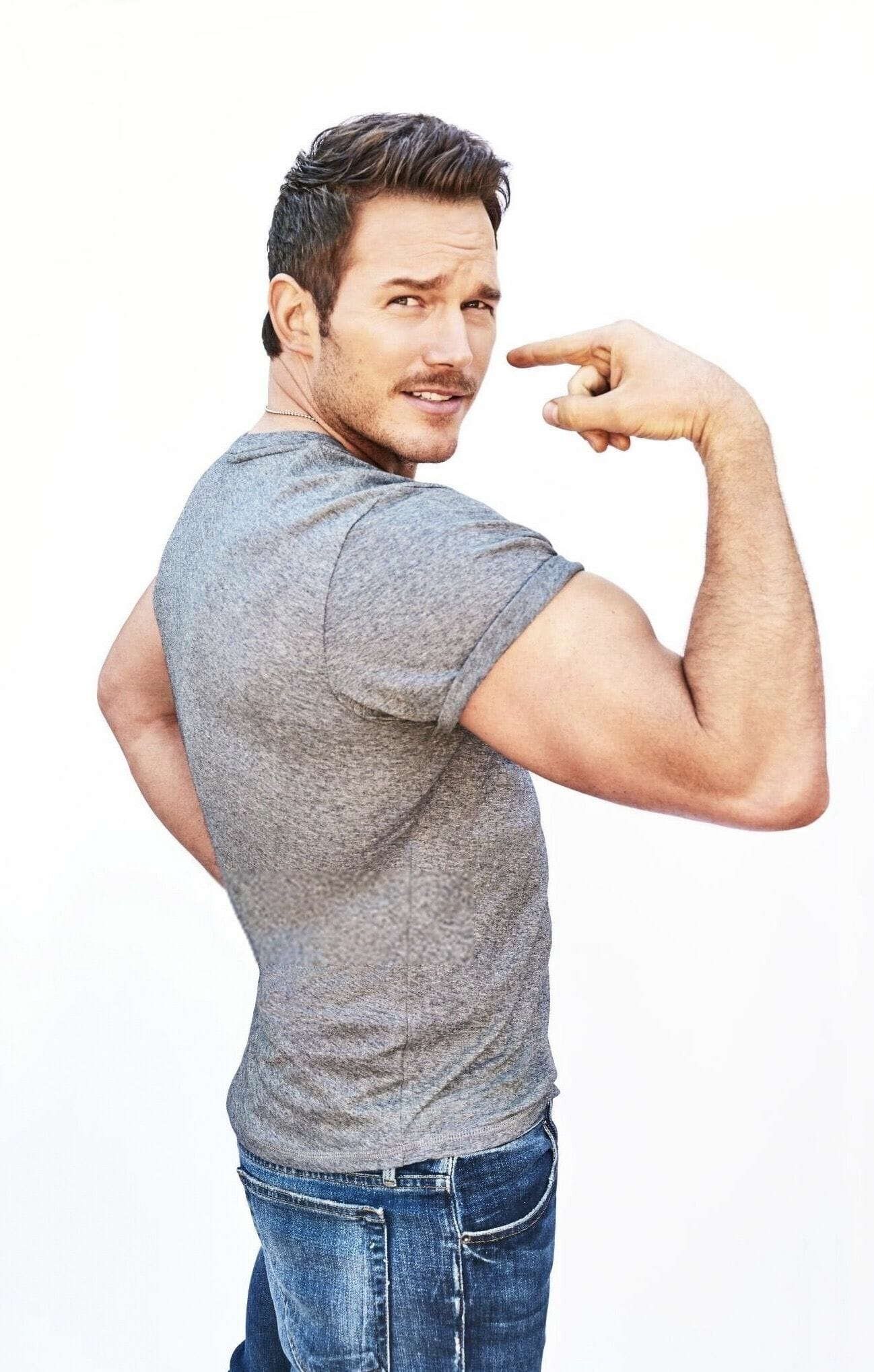 Chris Pratt big muscles