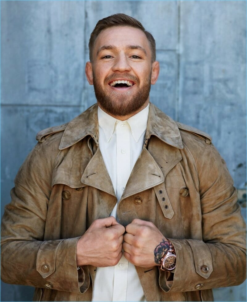 Conor McGregor leather jacket