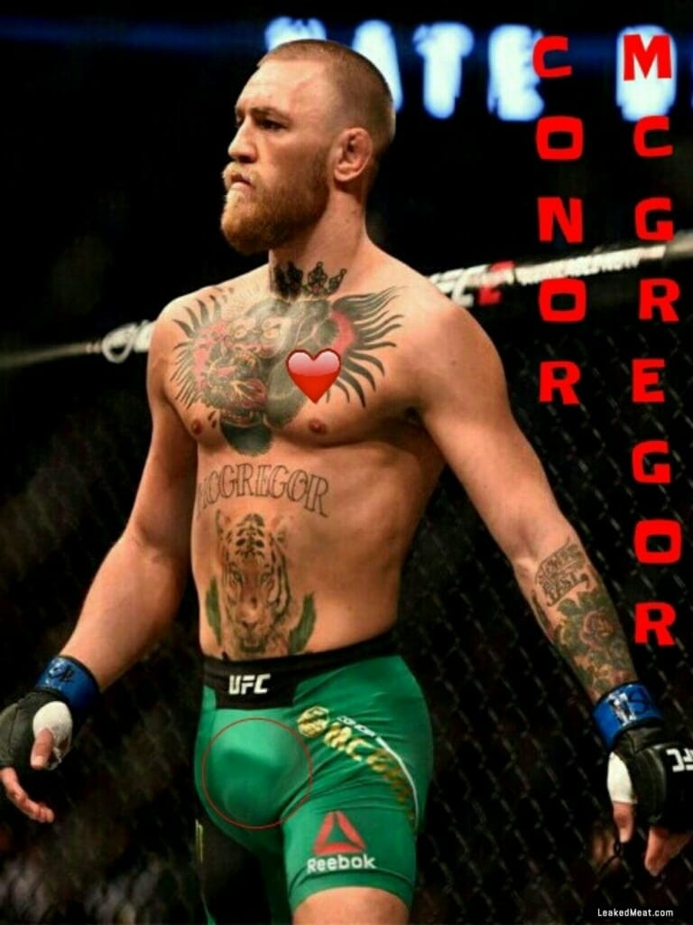 Conor McGregor penis visible