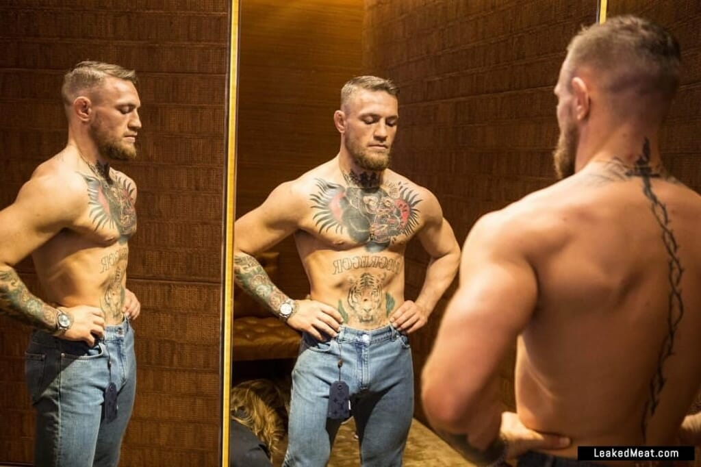Conor McGregor jeans bulge