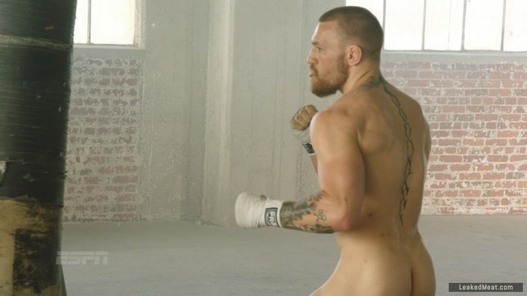 Conor McGregor nude fighting