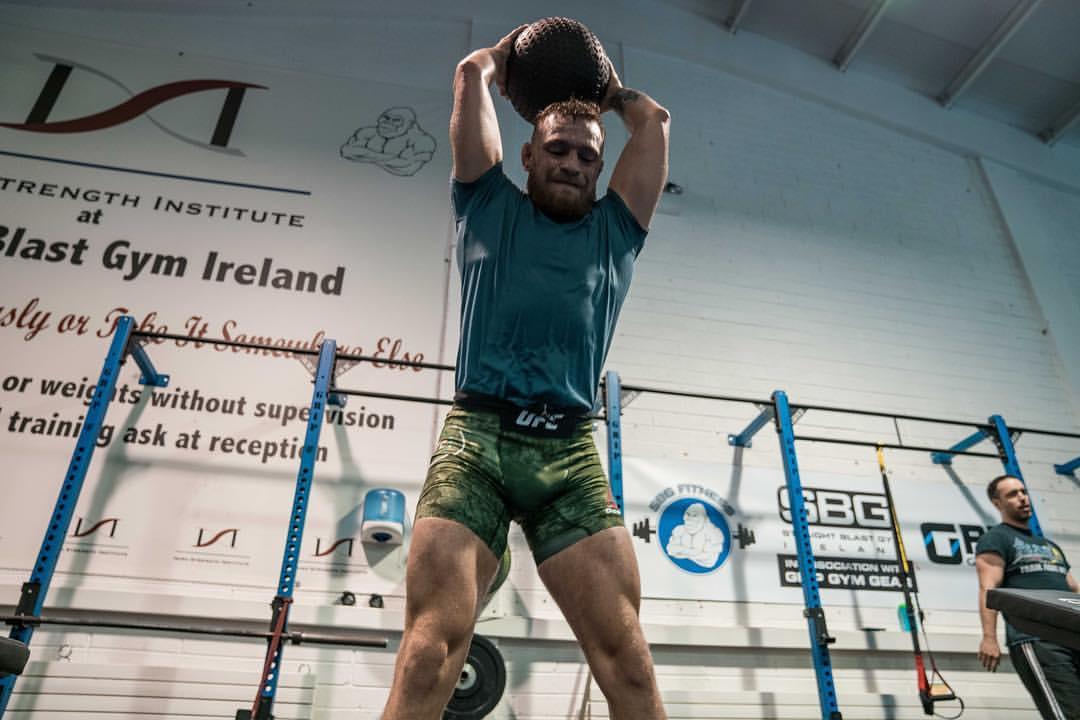 Conor McGregor workout