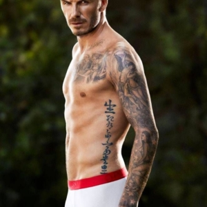 David Beckham hot image