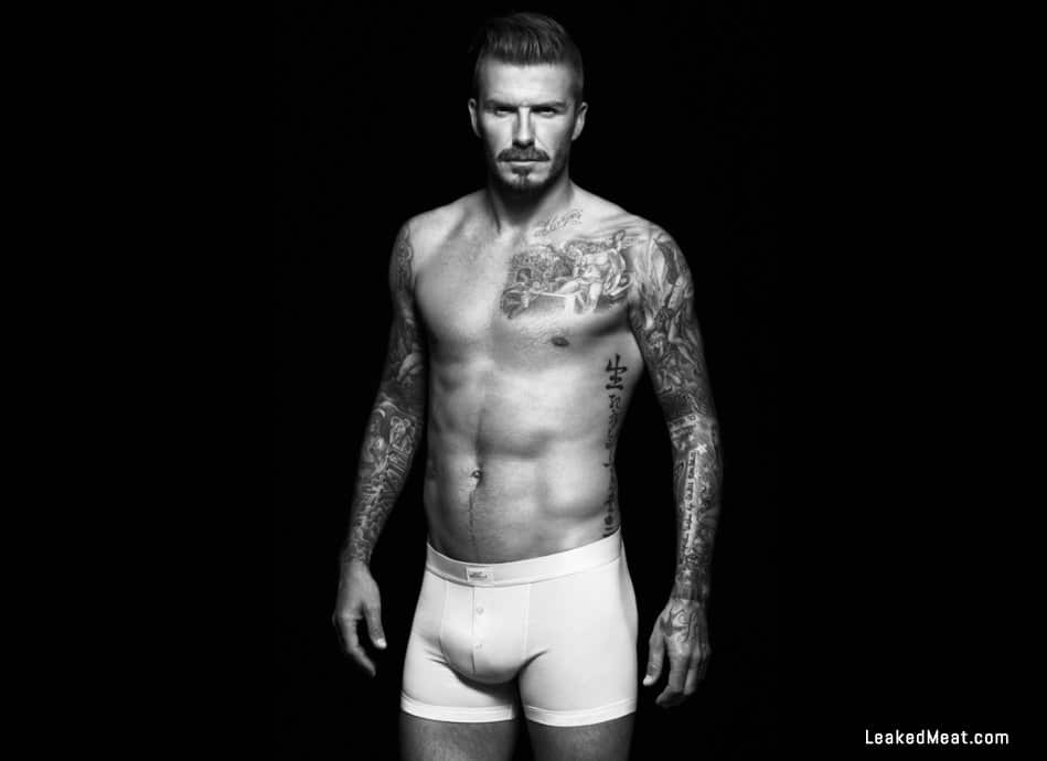 David Beckham penis showing