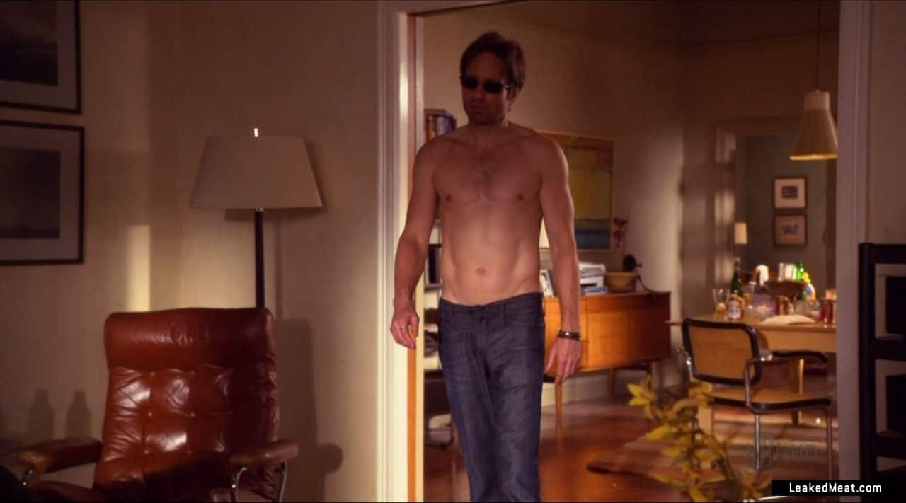 David Duchovny big muscles