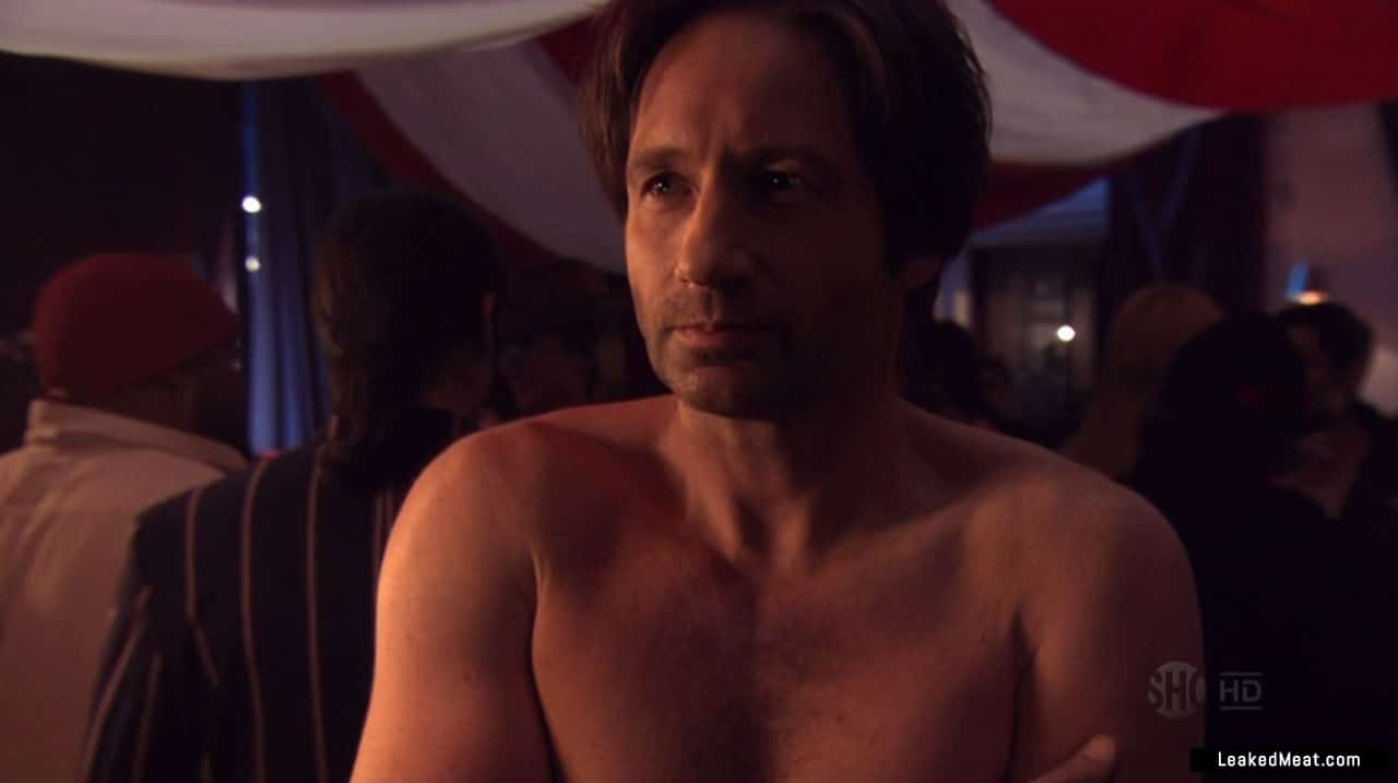 David Duchovny leaked naked