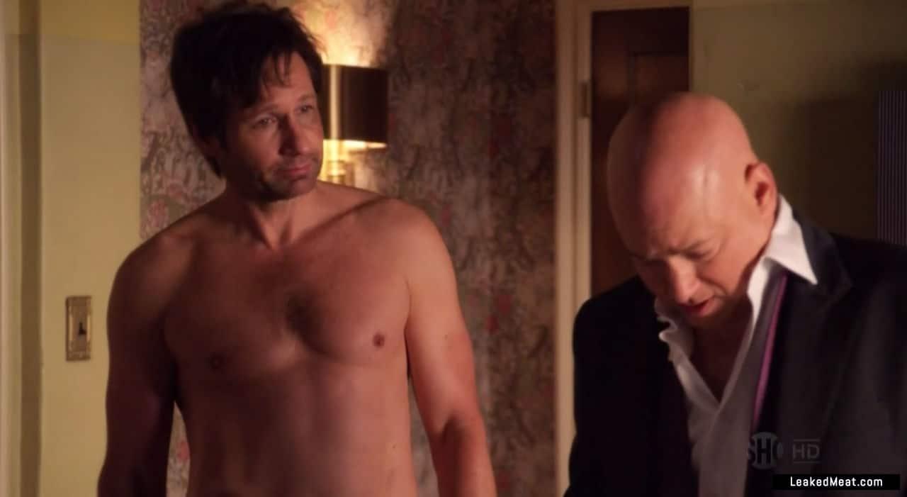 David Duchovny naked