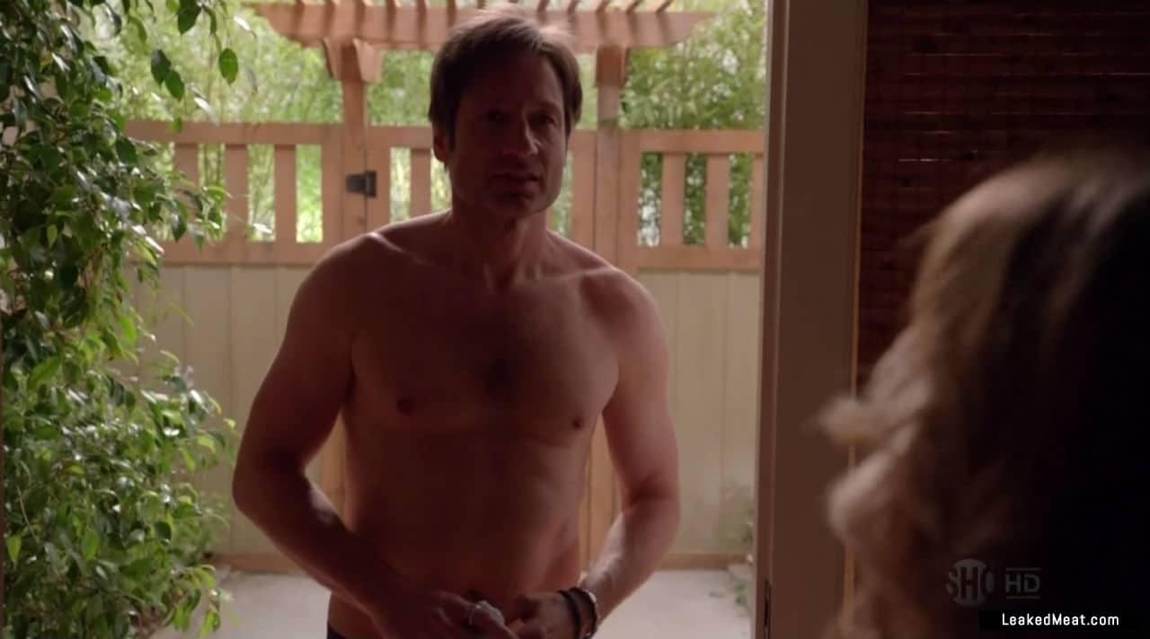 David Duchovny naked body