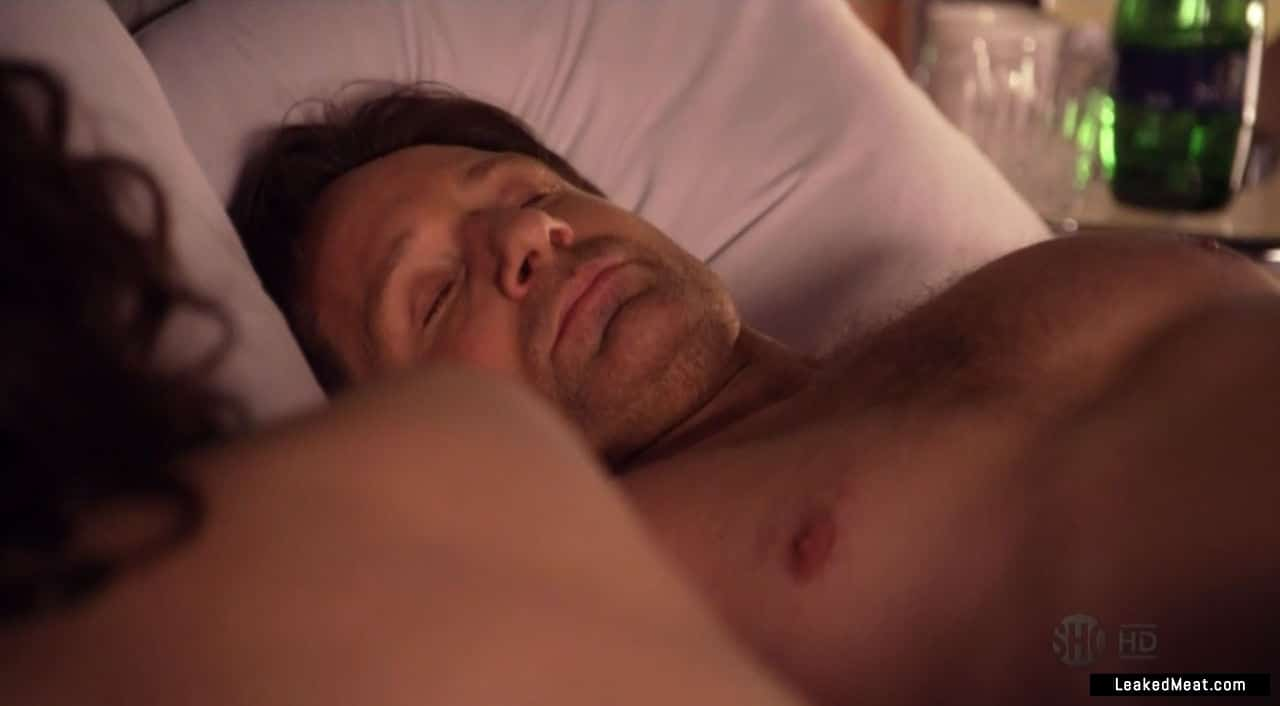 David Duchovny penis showing