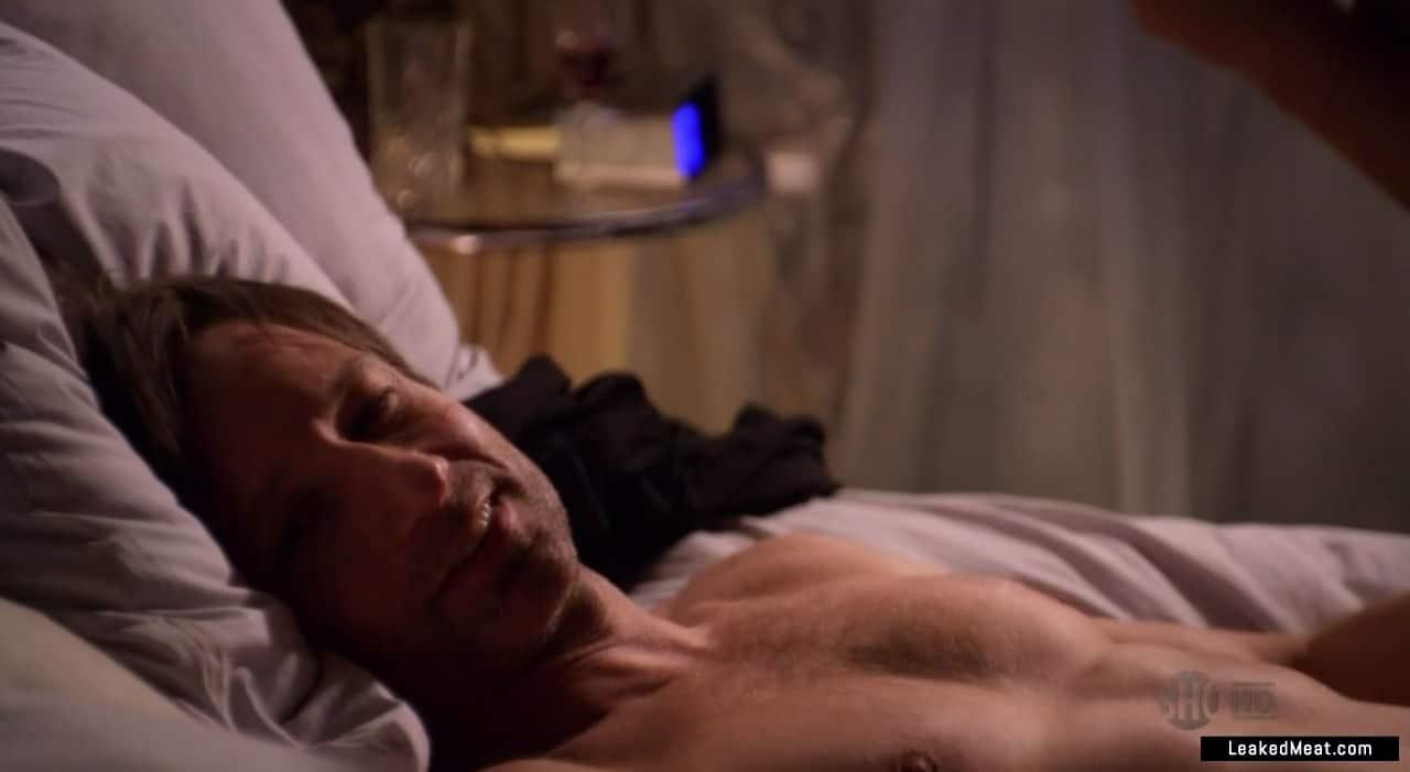 David Duchovny sexy naked