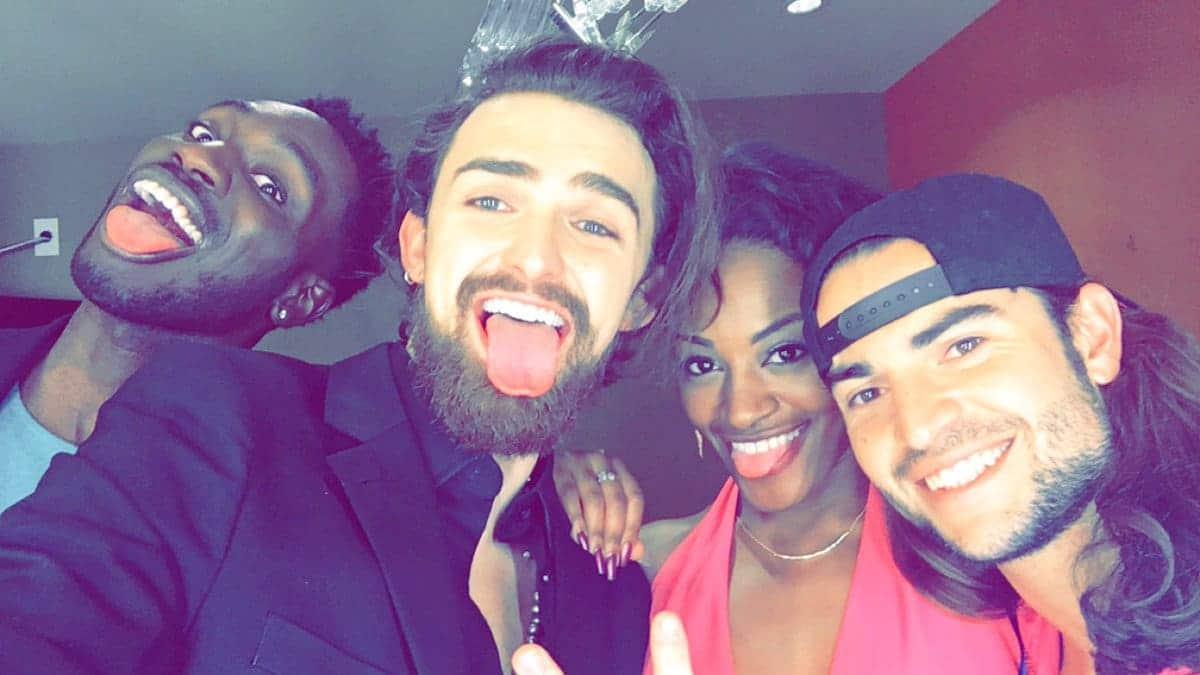 Dione Mariani selfie