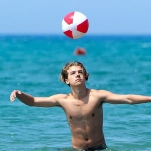 Dylan Sprouse hot and shirtless