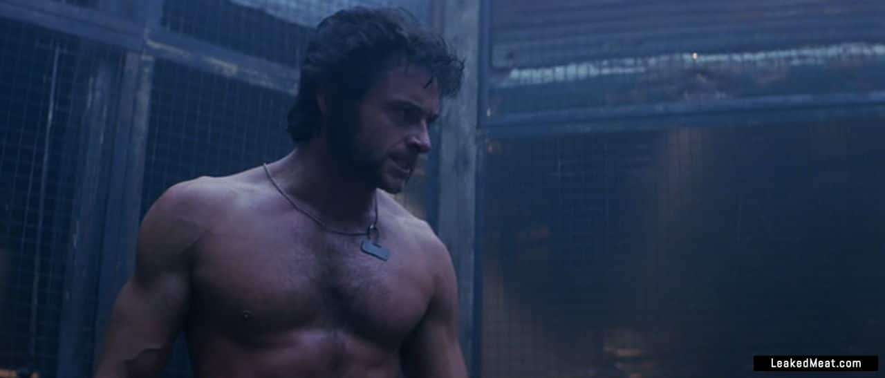 hugh jackman sexy naked