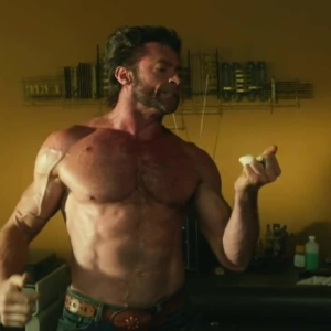 hugh jackman shirtless picture