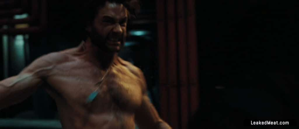 Hugh Jackman showing dick