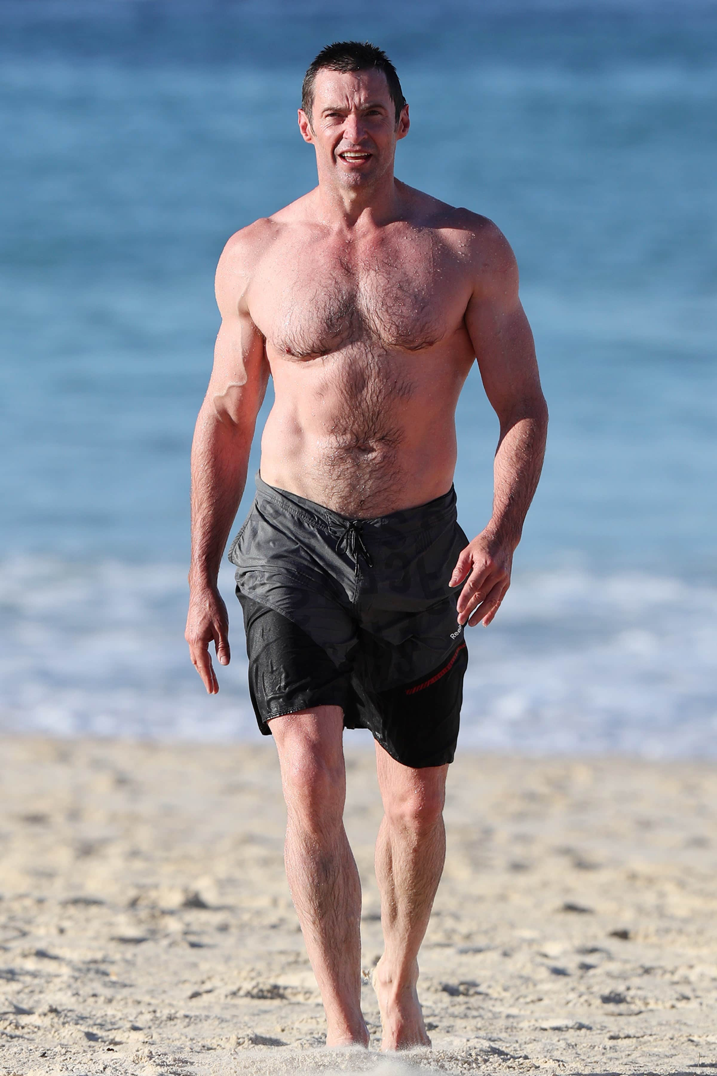 Hugh Jackman ripped
