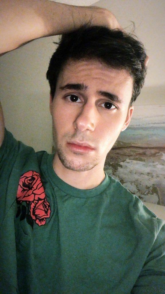 Jack Merridew hot selfie