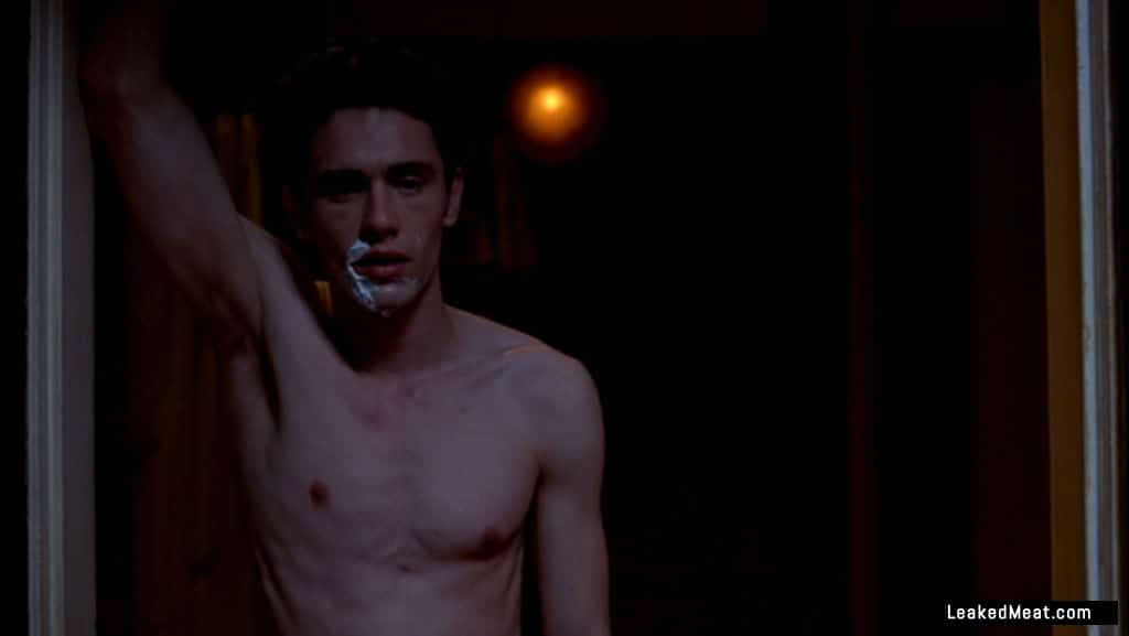James Franco chest