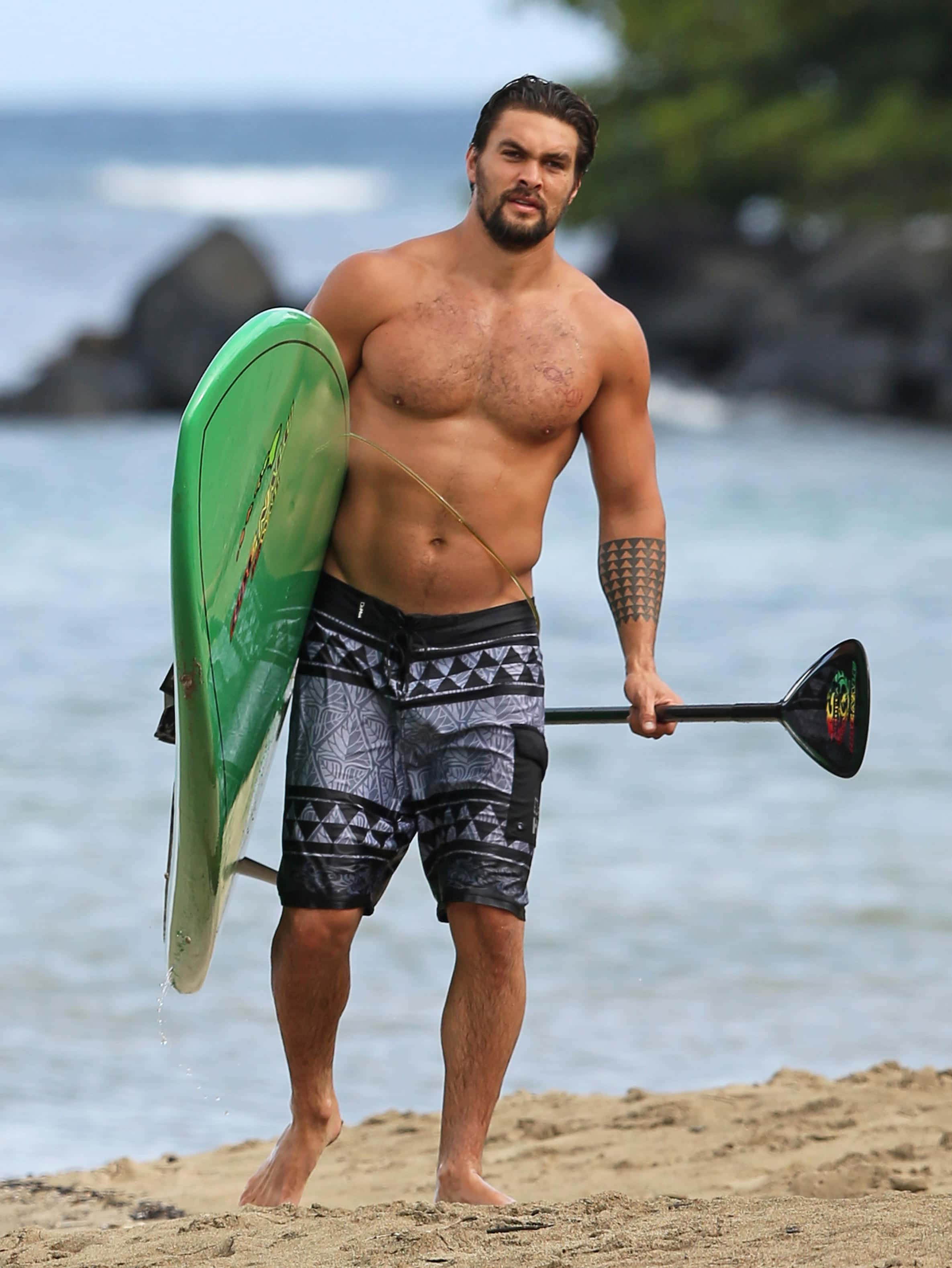 Jason Momoa hot body