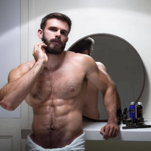 Killian Belliard Nude — The French Model & Bearded Lumberjack Exposed
