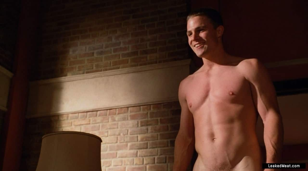 Stephen Amell jerking off