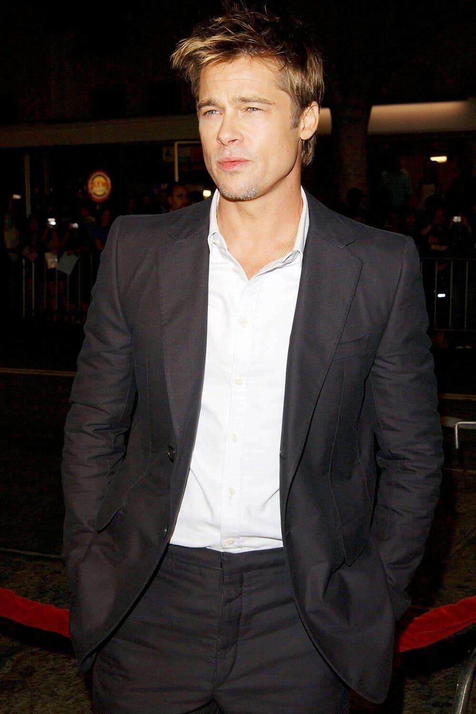 Brad Pitt sexy photo leaked