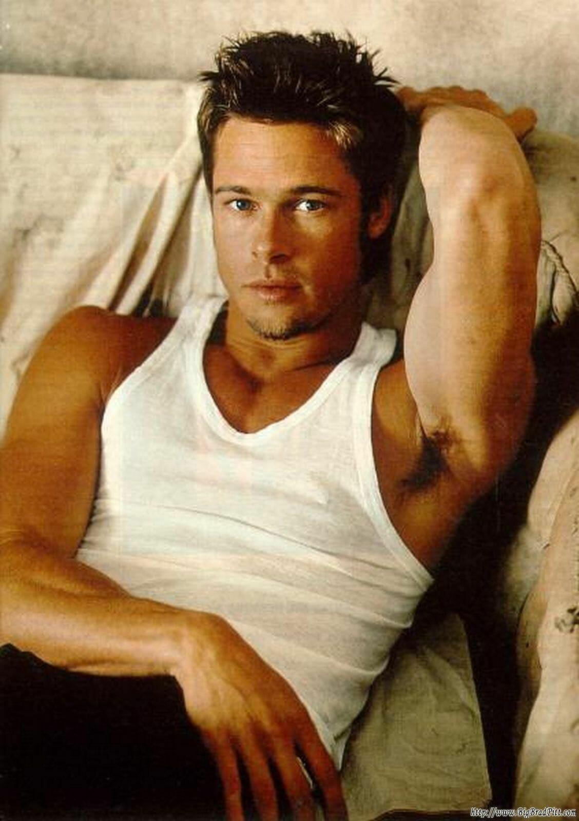Brad Pitt hot stud