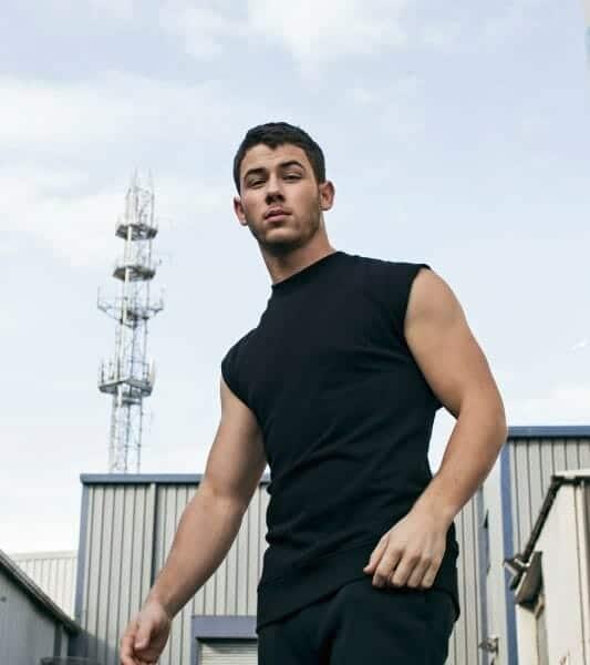 Nick Jonas hot biceps