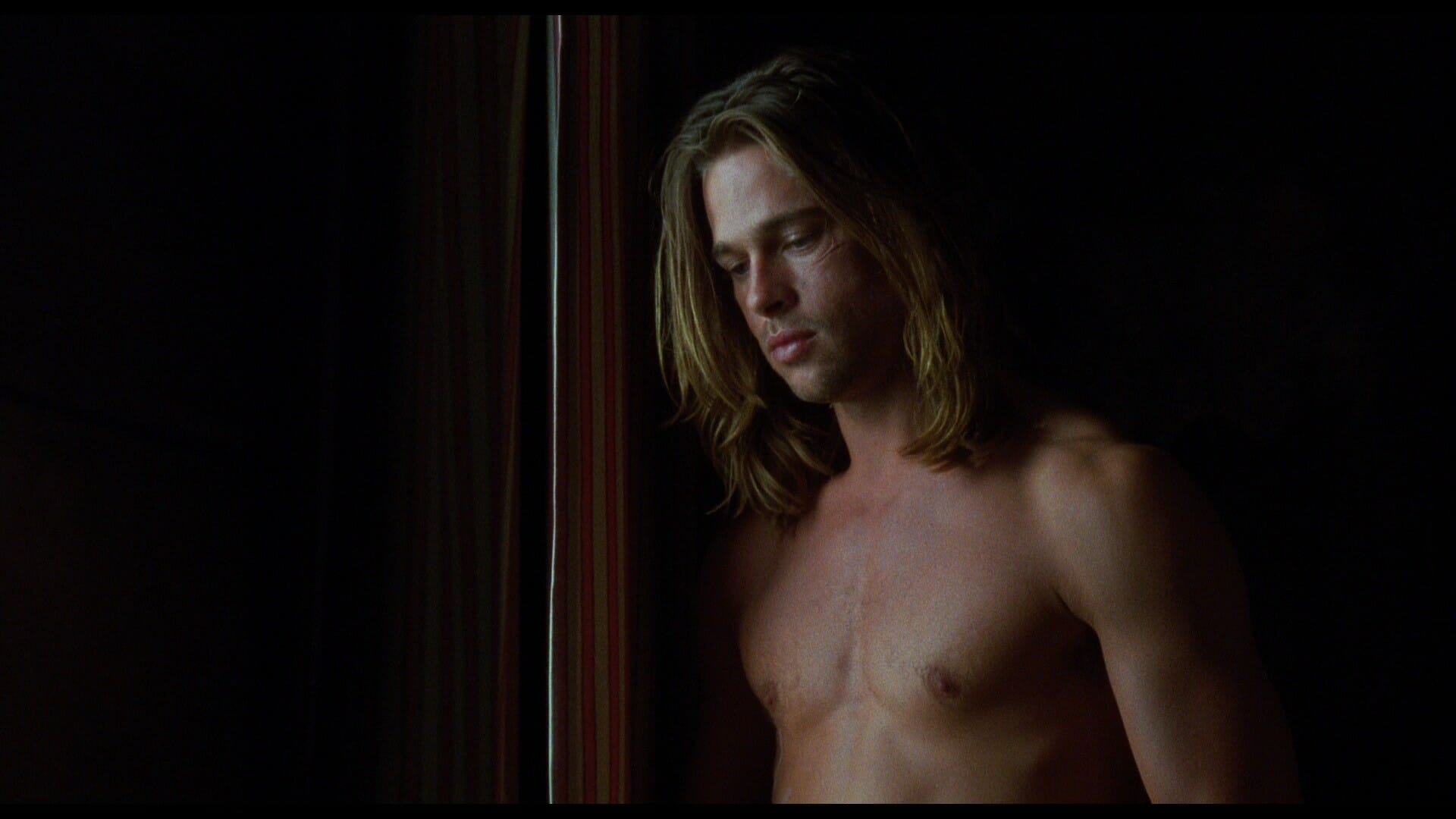 Brad Pitt naked in Legends of Fall