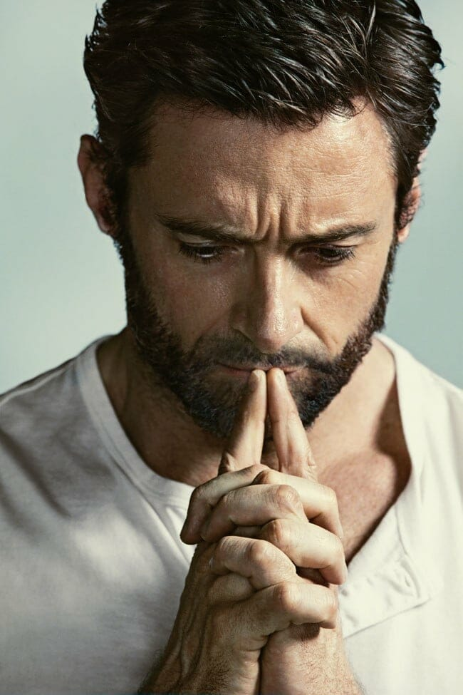 Hugh Jackman hot photo