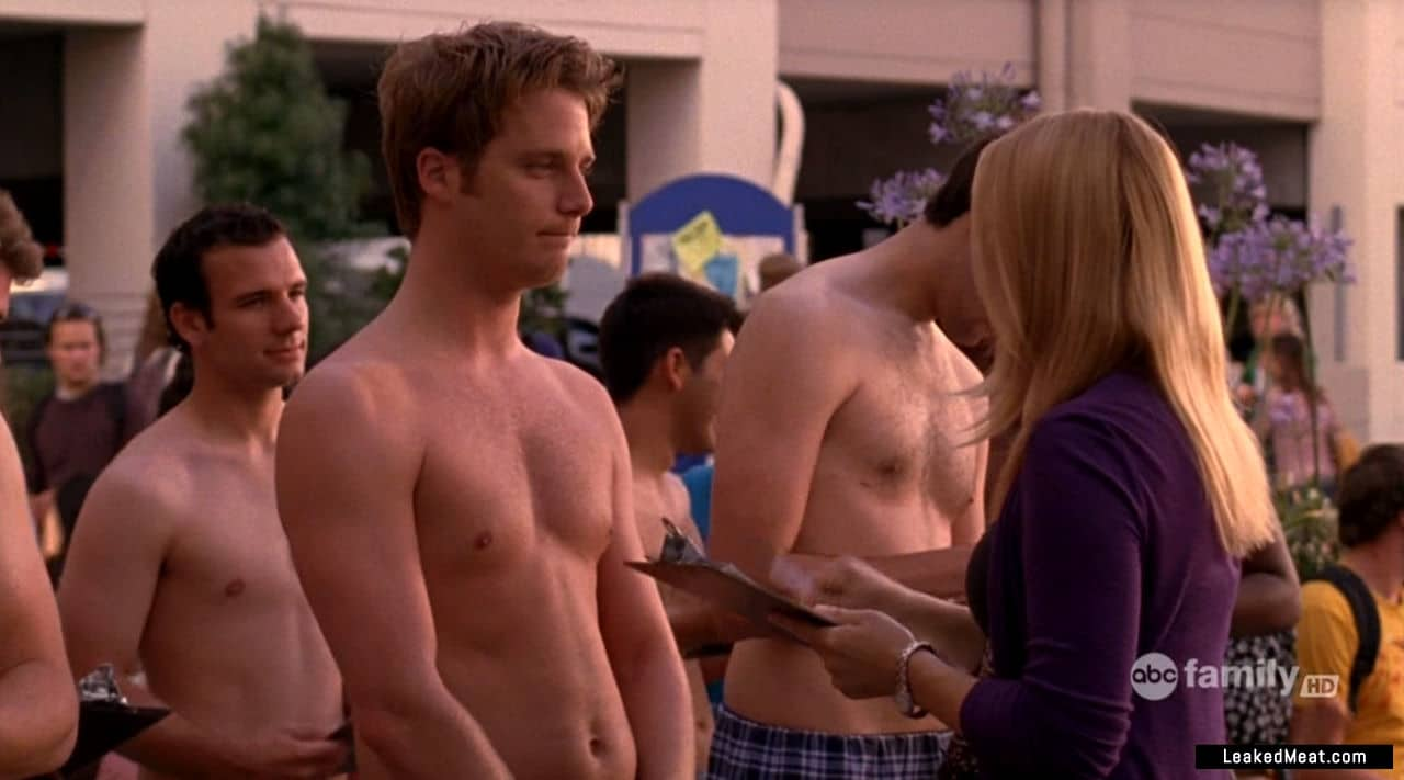Jake McDorman shirtless
