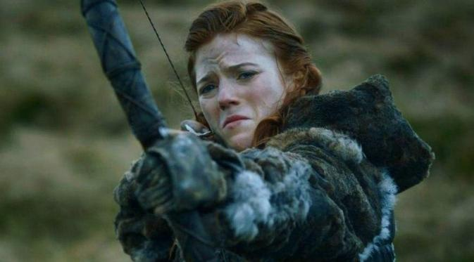 Rose Leslie (Ygritte) arrow