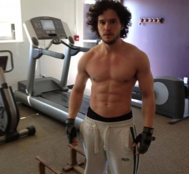 Kit Harington hot body