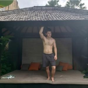 Mason Cook shirtless